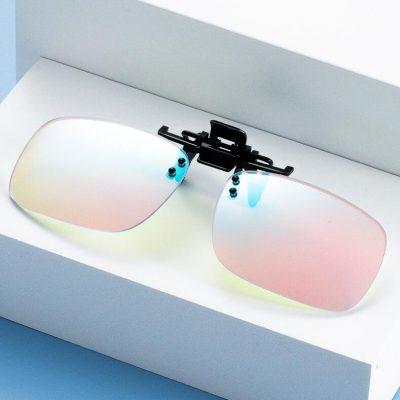 color blind glasses clip on banner