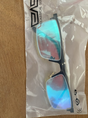 COVISN TPG-205 Color Blind Glasses UV Protect Indoor Outdoor 15g Weight photo review